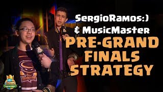 SergioRamos:) and MusicMaster Pre-Grand Finals Strategy - CCGS World Finals Interview