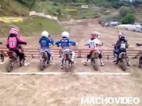 Most Exited Kid Ever Motorcross Kid