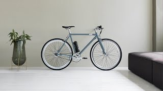The AM1 electric bike - it's a bike with a motor.