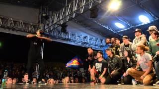SDK 2014 | Krump male final Jay Slam (winner) - Rowdy