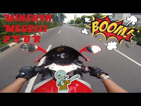 Test Ride Minerva Megelli 250R Punya Cewe