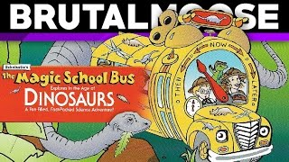 The Magic School Bus Explores in the Age of Dinosaurs - PC Game Review - brutalmoose