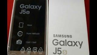 Samsung Galaxy J5 2016 4G LTE Dual Sim Smartphone 16GB unboxing Video