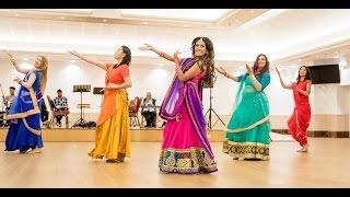Dola Re Dola - Beautiful Sangeet Dance by Binita Dance & Mahira Girls