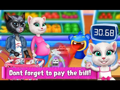 Kitty Supermarket Manager Educational Kids Games Android Gameplay Video