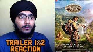 Chander Pahar Trailer 1&2 REACTION | Dev | Kamaleswar Mukherjee