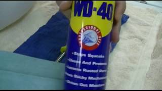 LIFE HACK:  Use WD-40 As Rust Remover!!!
