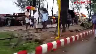 ঘূর্ণিঝড় রোয়ানুর আঘাতে চট্টগ্রাম  | Cyclone Roanu in Chittagong