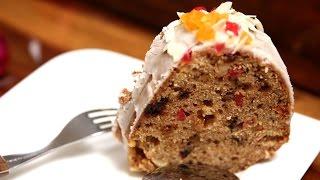 Homemade Fruit Cake | Easy Eggless Cake Recipe | Divine Taste With Anushruti