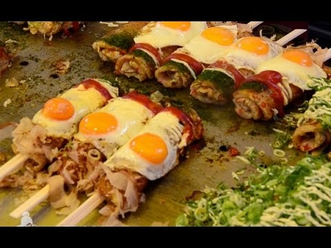 Street Food Japan A Taste of Delicious Japanese Cuisine Compilation