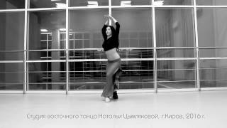 Verbovaya Ekaterina/baladi and tabla. November 2016.Belly dance improvisation.