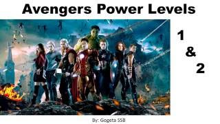Avengers Double Pack Power Levels
