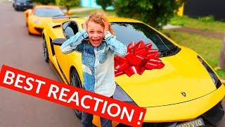9 Year Old Son Finally Got His LAMBORGHINI  HIS DREAM CAME TRUE  NORRIS NUTS SURPRISE part 3 of 4