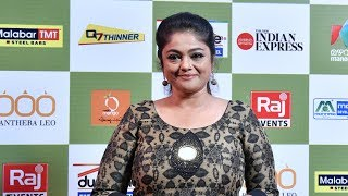 Lalitham 50 I Manju Pillai on red carpet l Mazhavil Manorama