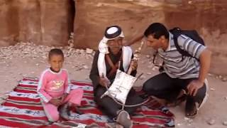 Petra Bedouin singing and playing the Rababa!