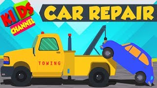 Tow Truck | car garage | vehicle repair and service | kids auto
