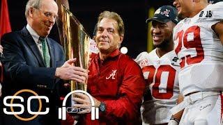 Nick Saban will do anything to help Alabama win | SC with SVP | ESPN