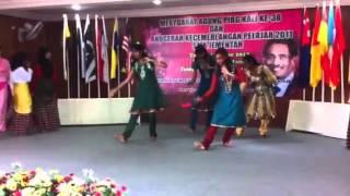 SMK Jementah 1 Malaysia dance
