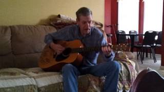 danny lee adkins sr. (randy travis look alike) sings the highway men big river.mp4