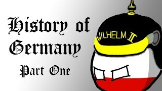 Polandball - History of Modern Germany (Part I - The German Empire)