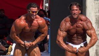 Calum Von Moger  vs.  Bill McAleenan - Bodybuilding Showdown