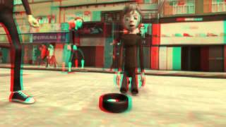 Video 3D ANIMAÇÃO (Red-Cyan)