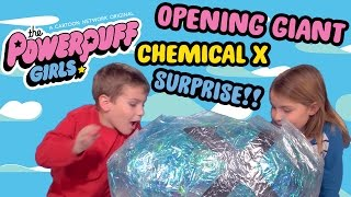 GIANT SURPRISE CHEMICAL X! |  UNBOXING Powerpuff Girls Toys | Cartoon Network