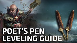 How to level with Poet's Pen to 70 in 3:30 hours - Full speedrun guide