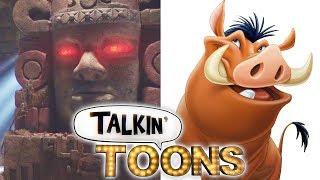 Dee Bradley Baker Mashes up Lion King & Legends of the Hidden Temple! (Talkin