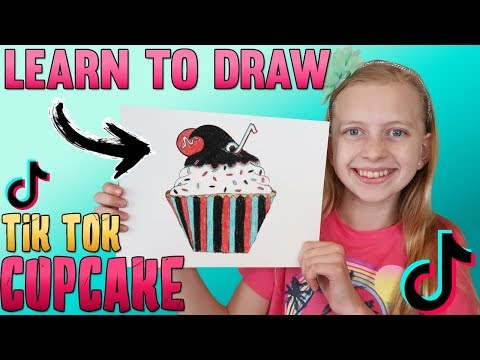 Xxx Mp4 Draw A TikTok Cupcake Art With Alyssa 3gp Sex