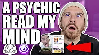 A PSYCHIC TOLD ME MY FUTURE AND READ MY MIND!! **NOT CLICKBAIT**