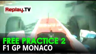 Onboard camera Kecelakaan Rio Haryanto F1 GP Monaco 2016
