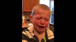 Brody crying about mommy and daddy getting married again