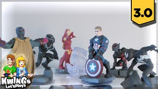 Disney Infinity 3.0 -Marvel Battlegrounds Unboxing & All Civil War Characters!