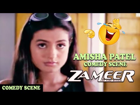 Download Amisha Patel Making Fun With Ajay Devgan In Class Room Comedy Scene | Zameer: The Fire Within