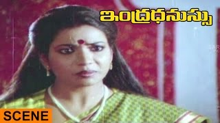 Jeevitha Dress Removing Scene || Indradhanassu Telugu Movie || Rajasekhar, Jeevatha