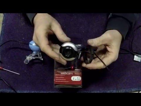 Modifying webcam for my telescope.