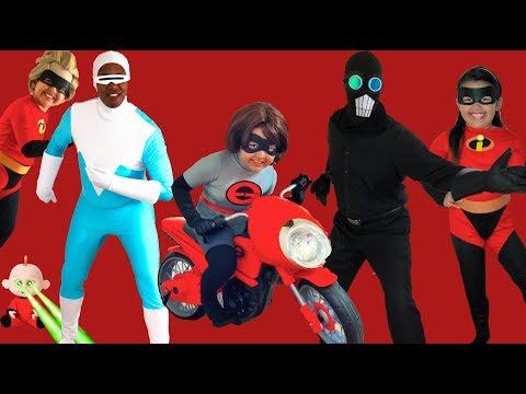 Xxx Mp4 Disney Pixar INCREDIBLES 2 Halloween Costumes Toys And Elasticycle 3gp Sex