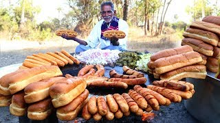 Hot Dogs Recipe   How to Make easy Hot Dogs   New York Chicken Hot Dog By Our Grandpa