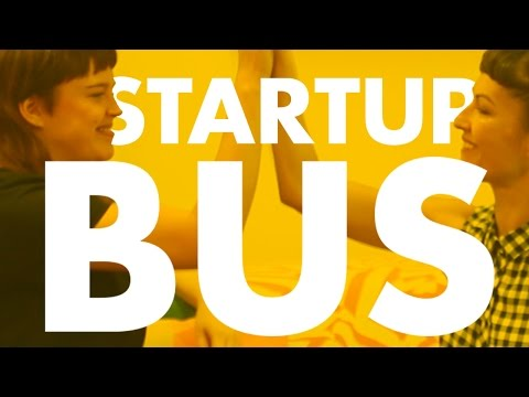 Get your tech business started in 72 hours StartupBus Europe teams coders designers hustlers