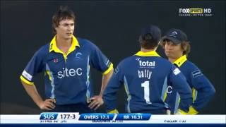 38 runs in 1 over - The worst bowler ever 2013