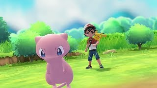Mew Pokeball Plus Announcement for Pokemon Let