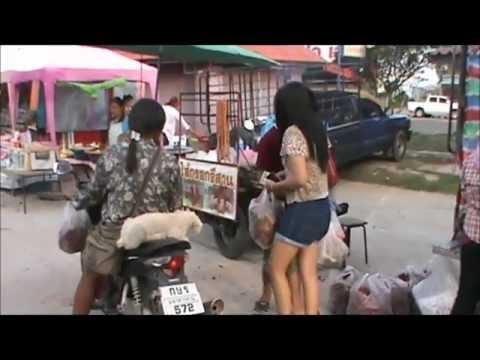 Na Dun Market, Maha Sarakham, Thailand