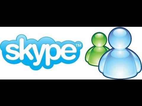 Add me on Skype and Msn!
