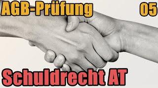 Schuldrecht I 05 - Die AGB Prüfung
