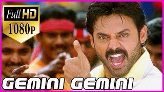 Gemini Full Hd (1080p) Video Songs (జెమినీ జెమినీ )- Telugu Video Songs - Venkatesh ,Namitha