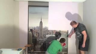 Komar Penthouse Asennus Installation