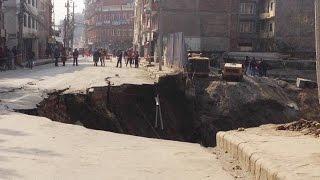 Download काठमाण्डौ स्थित नक्साल सडक भासियो || Kathmandu, Naxal Road Collapse || 3Gp Mp4