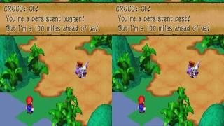 "Super Mario RPG CENSORED - Croco Saying ""Bugger""/Bandit"