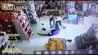 Store Owner Loses Fight For His Life to Armed Robber